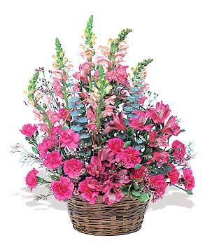karisik mevsim sepeti   Tokat çiçekçi mağazası