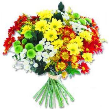 Kir çiçeklerinden buket modeli  Tokat çiçek gönderme sitemiz güvenlidir