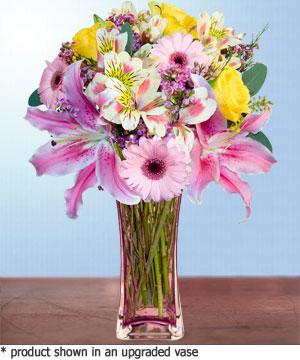 Anneme hediye karisik cam mevsim demeti  Tokat çiçek yolla , çiçek gönder , çiçekçi