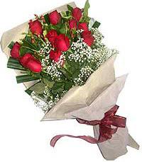 11 adet kirmizi güllerden özel buket  Tokat çiçek yolla , çiçek gönder , çiçekçi