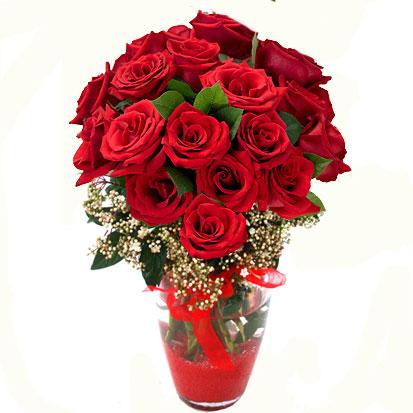 Tokat güvenli kaliteli hızlı çiçek   9 adet kirmizi gül