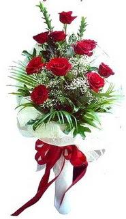 Tokat çiçek servisi , çiçekçi adresleri  10 adet kirmizi gül buketi demeti