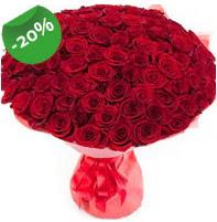 Özel mi Özel buket 101 adet kırmızı gül  Tokat çiçek , çiçekçi , çiçekçilik