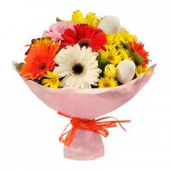Karışık mevsim buketi Mevsimsel çiçek  Tokat çiçek yolla , çiçek gönder , çiçekçi