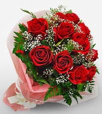 12 adet kırmızı güllerden kaliteli gül  Tokat İnternetten çiçek siparişi