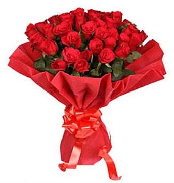 41 adet gülden görsel buket  Tokat hediye sevgilime hediye çiçek