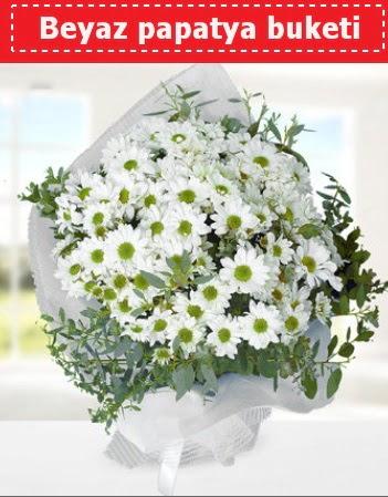 Beyaz Papatya Buketi  Tokat çiçek satışı