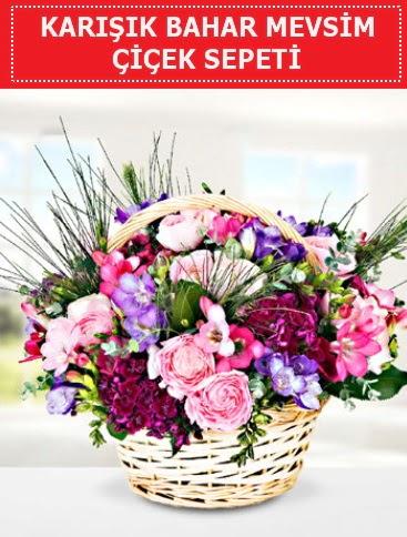 Karışık mevsim bahar çiçekleri  Tokat çiçek servisi , çiçekçi adresleri