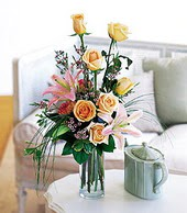 Tokat çiçek online çiçek siparişi  cam yada mika vazo içerisinde gül kazablanka