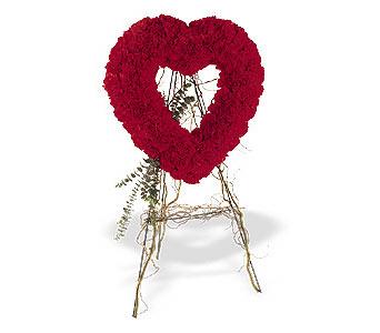 Tokat yurtiçi ve yurtdışı çiçek siparişi  karanfillerden kalp pano