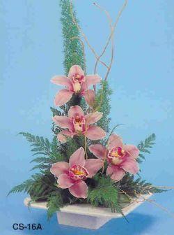 Tokat anneler günü çiçek yolla  vazoda 4 adet orkide