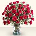 Tokat online çiçekçi , çiçek siparişi  33 adet kirmizi gül cam yada mika vazoda