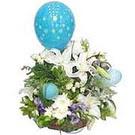 balon ve çiçeklerle tanzim  Tokat online çiçekçi , çiçek siparişi