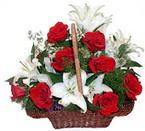sepette gül ve kazablankalar   Tokat kaliteli taze ve ucuz çiçekler