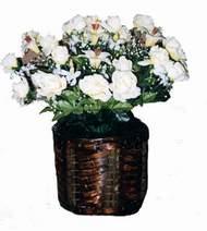 yapay karisik çiçek sepeti   Tokat çiçek yolla