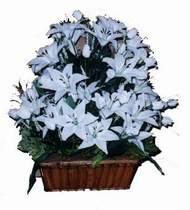 yapay karisik çiçek sepeti   Tokat çiçek gönderme sitemiz güvenlidir