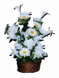 yapay karisik çiçek sepeti  Tokat İnternetten çiçek siparişi