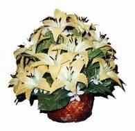 yapay karisik çiçek sepeti   Tokat güvenli kaliteli hızlı çiçek