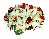 yapay karisik çiçek sepeti   Tokat çiçek yolla , çiçek gönder , çiçekçi