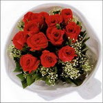 10 adet kirmizi gül buketi   Tokat anneler günü çiçek yolla
