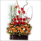 sepet içerisinde güller   Tokat kaliteli taze ve ucuz çiçekler