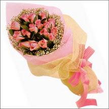 11 adet pembe güllerden   Tokat kaliteli taze ve ucuz çiçekler