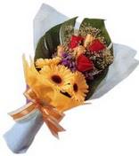 güller ve gerbera çiçekleri   Tokat cicekciler , cicek siparisi