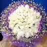 71 adet beyaz gül buketi   Tokat çiçek online çiçek siparişi