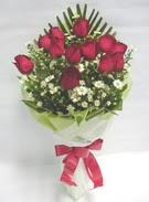 12 adet gül ve kir çiçekleri   Tokat çiçek online çiçek siparişi