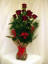10 adet kirmizi güllerden  Tokat çiçekçi telefonları