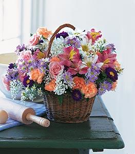 Tokat çiçek gönderme  Kocaman bir mevsim demeti sepet içerisinde