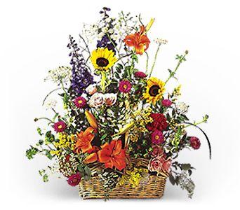 karisik kocaman mevsim sepeti  Tokat çiçek gönderme