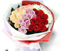 SEVENLERE ÖZEL 51 ADET GÜL  Tokat yurtiçi ve yurtdışı çiçek siparişi