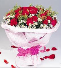 Tokat yurtiçi ve yurtdışı çiçek siparişi  12 ADET KIRMIZI GÜL BUKETI