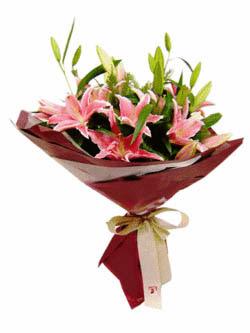 3 ADET KAZABLANKA BUKETI   Tokat yurtiçi ve yurtdışı çiçek siparişi