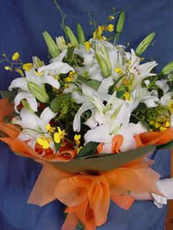 Tokat yurtiçi ve yurtdışı çiçek siparişi  5 ADET KAZABLANKA BUKETI KALITEDEN SASMAYANLARA