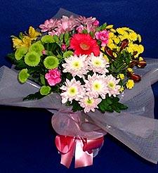 Tokat çiçek mağazası , çiçekçi adresleri  küçük karisik mevsim demeti