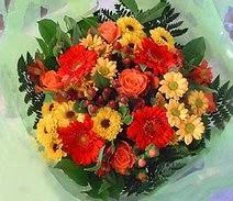 Tokat çiçek servisi , çiçekçi adresleri  sade hos orta boy karisik demet çiçek