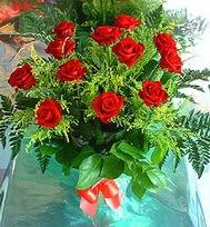 12 adet gül buketi  Tokat çiçek , çiçekçi , çiçekçilik