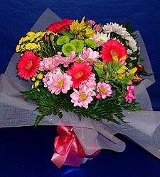 karisik sade mevsim demetligi   Tokat çiçek satışı