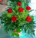 6 adet kirmizi gül buketi   Tokat çiçek gönderme sitemiz güvenlidir