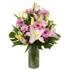 vazo içerisinde karisik mevsim çiçekleri  Tokat çiçek yolla , çiçek gönder , çiçekçi