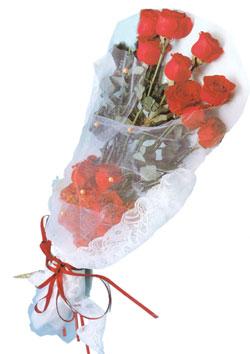11 adet kirmizi güller buket tanzimi   Tokat güvenli kaliteli hızlı çiçek