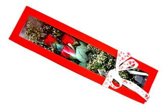 Tokat çiçek mağazası , çiçekçi adresleri  Kutuda 3 adet gül