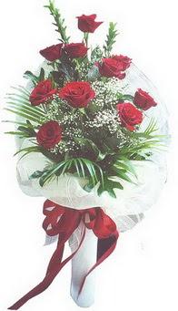 Tokat çiçek mağazası , çiçekçi adresleri  10 adet kirmizi gülden buket tanzimi özel anlara