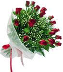 Tokat yurtiçi ve yurtdışı çiçek siparişi  11 adet kirmizi gül buketi sade ve hos sevenler