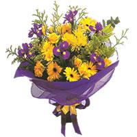 Tokat cicekciler , cicek siparisi  Karisik mevsim demeti karisik çiçekler