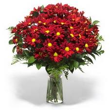 Tokat uluslararası çiçek gönderme  Kir çiçekleri cam yada mika vazo içinde