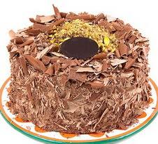 çikolatali 4 ile 6 kisilik yas pasta  Tokat çiçekçi mağazası