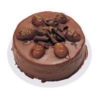 Kestaneli çikolatali yas pasta  Tokat çiçek online çiçek siparişi